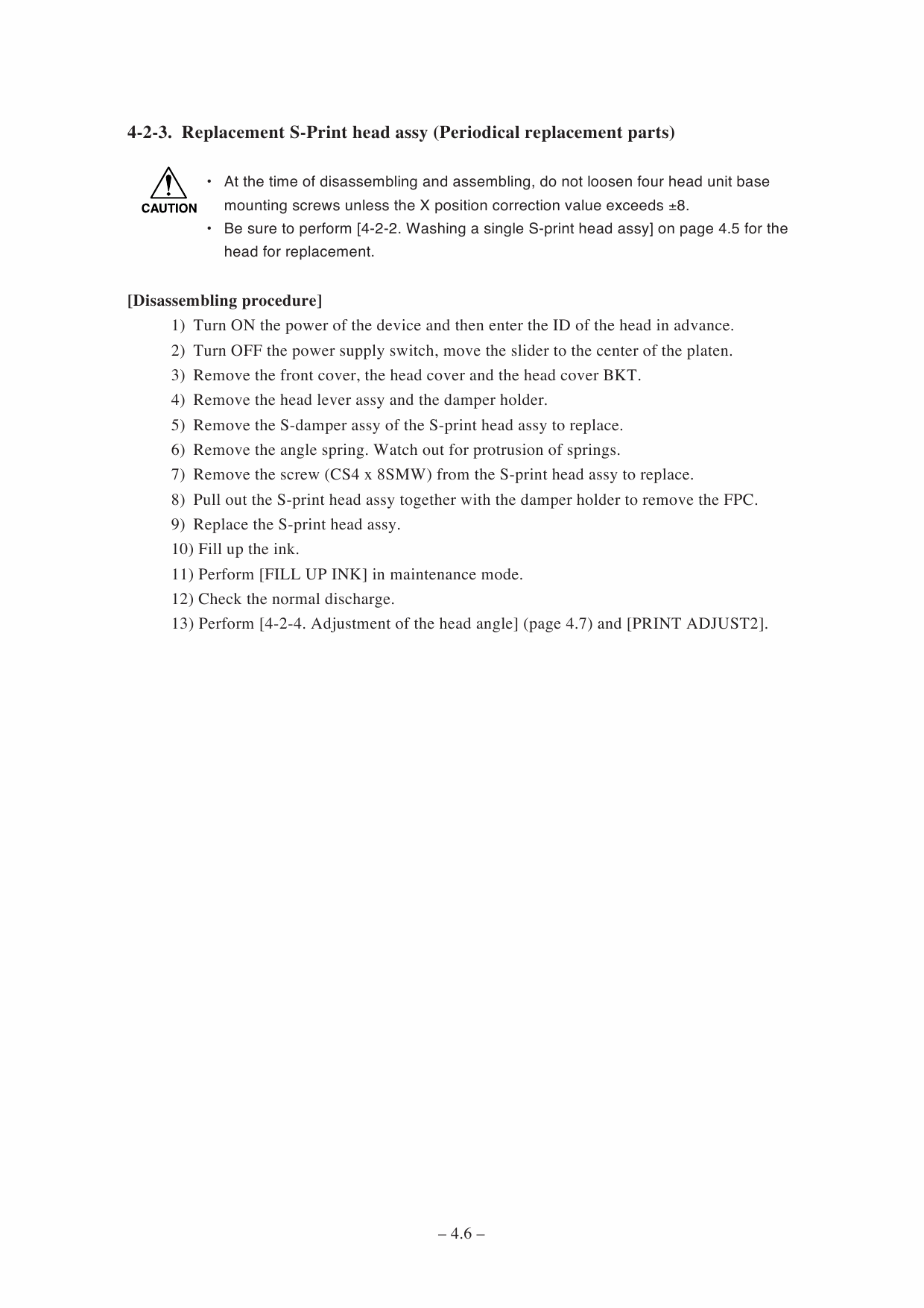 MIMAKI JV3 250SP MAINTENANCE Service Manual-4